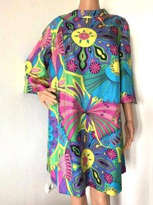 769€ Emilio Pucci Seidenkleid Seidentunika Strandkleid Kleid Seide Sommer Tunika Shirt Print 40 L
