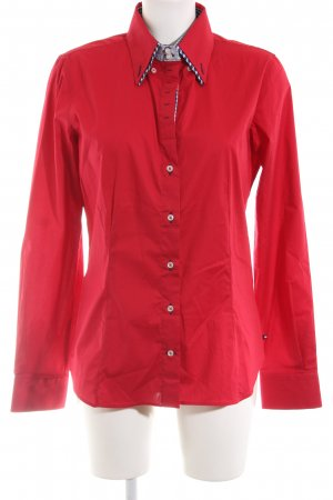 7Camicie Langarm-Bluse rot Casual-Look