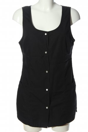 7days Blusa larga negro look casual