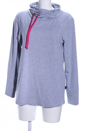 Turtleneck Shirt lilac flecked casual look
