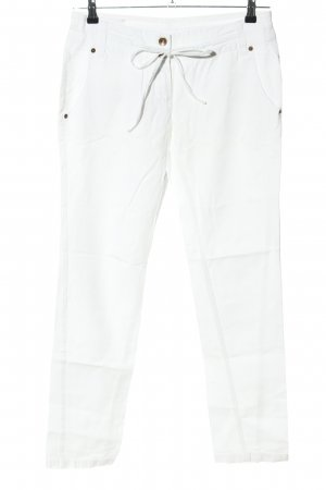 7days Jeans slim fit bianco stile casual