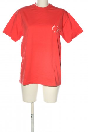 7days Camiseta rojo look casual