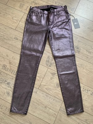 7For All Mankind Glanzjeans The Skinny Gr. 26 neu mit Etikett