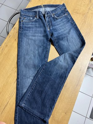 7 For All Mankind Low Rise Jeans blue