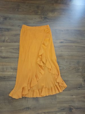 8 BY YOOX Jupe taille haute orange