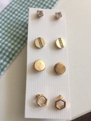 8 ohrstecker in Gold