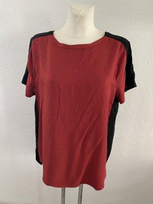 8PM T-Shirt black-carmine