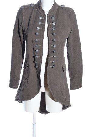 -8- Venice Długa kurtka khaki W stylu casual