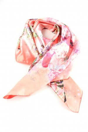 -8- Venice Summer Scarf flower pattern casual look