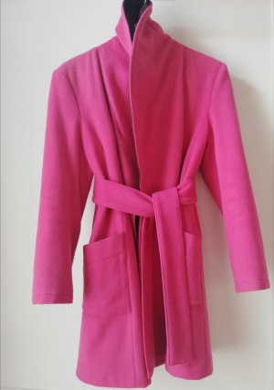 80% On Sales! Pink Puffer Trench Coat
