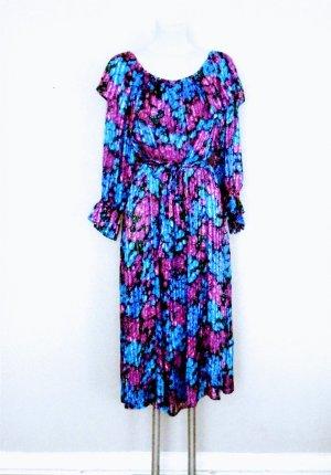 80ee Vintage Seidenkleid