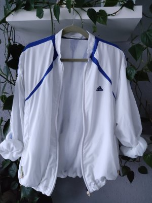 Adidas Chaqueta deportiva blanco-azul
