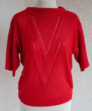 Vintage Jersey de ganchillo multicolor Acrílico