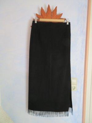Apanage Fringed Skirt black