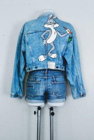 80er Vintage Jeansjacke