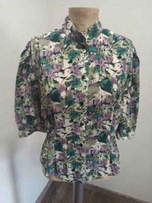 Vintage Bluzka oversize Wielokolorowy
