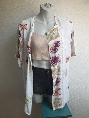 80s / 90s Oversize Bluse / Hemd, abstrakt gemustert