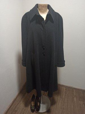 Vintage Płaszcz oversize Wielokolorowy Wełna