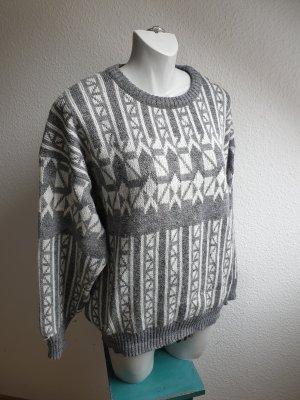 Schiesser Wool Sweater white-grey