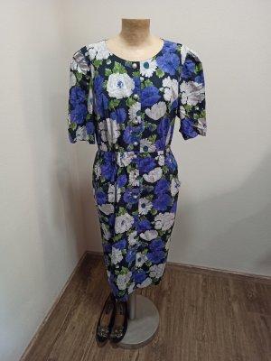 Vintage Midi Dress multicolored cotton