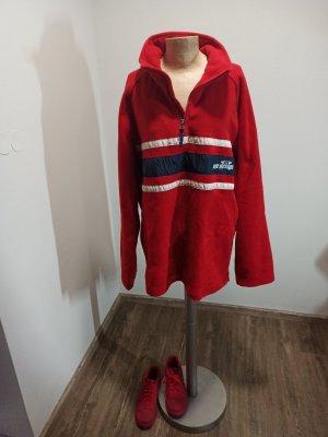 Vintage Polarowy sweter Wielokolorowy