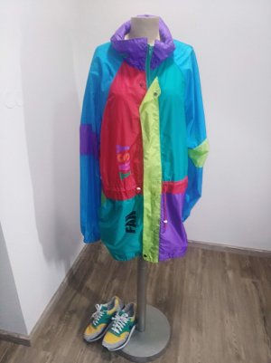 Vintage Veste oversize multicolore