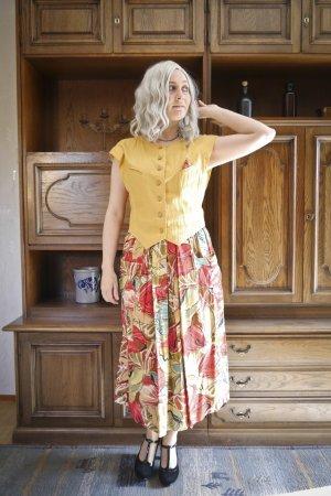 Vintage Traje para mujer multicolor Algodón