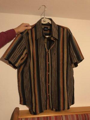 80s Vintage Hemd Streifen