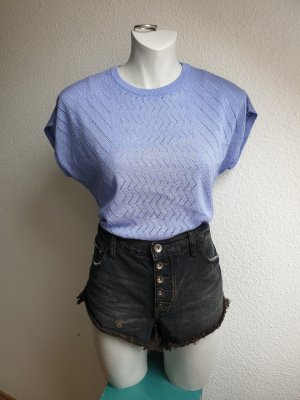 80s Vintage Strickshirt / Häkelshirt