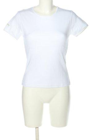 81hours Camiseta blanco letras impresas look casual