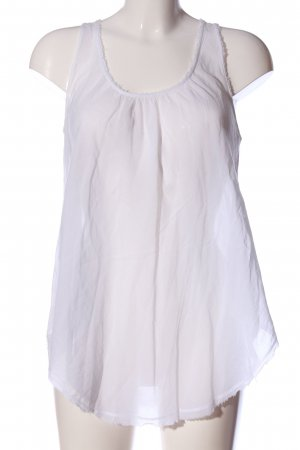 81 hours Transparent Blouse white casual look