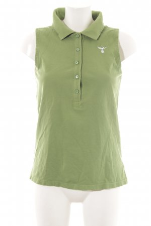81hours Polo shirt groen casual uitstraling