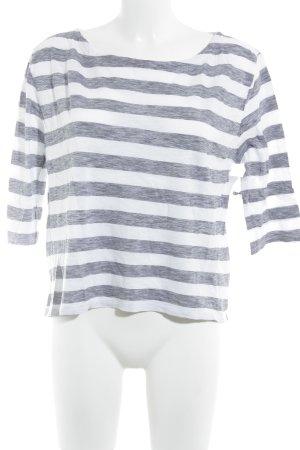 81hours T-shirt rayé multicolore style décontracté
