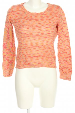 81hours Knitted Sweater pink-light orange flecked casual look