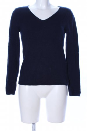 81hours Wollpullover blau Casual-Look