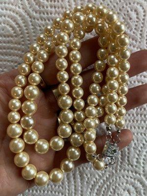 835 Silber Halskette Perlen antik