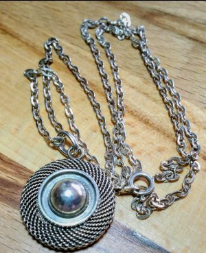 Antikschmuck Srebrny łańcuch srebrny
