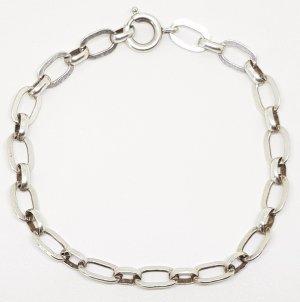 835 silber vintage Armband Ankerkette Gliederarmband Silberarmband