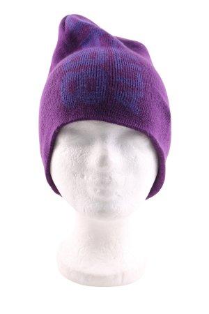 8848 Altitude Cappello a maglia lilla caratteri stampati stile casual