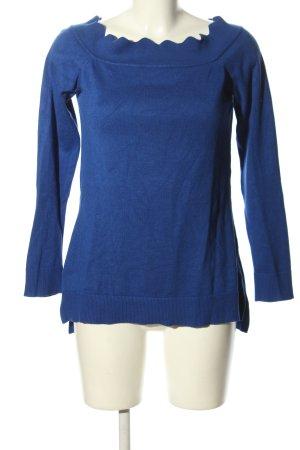89th & Madison Longpullover blau Casual-Look
