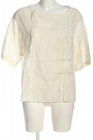 8PM Short Sleeved Blouse natural white casual look