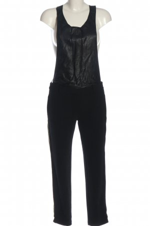 8PM Dungarees black casual look