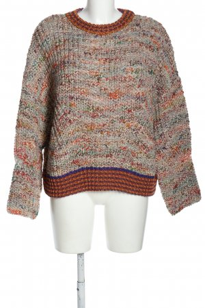 8PM Crewneck Sweater flecked casual look