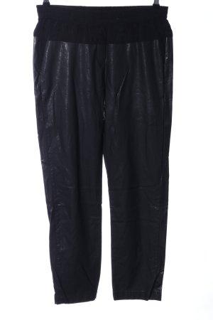 8PM Pantalon en jersey noir style extravagant
