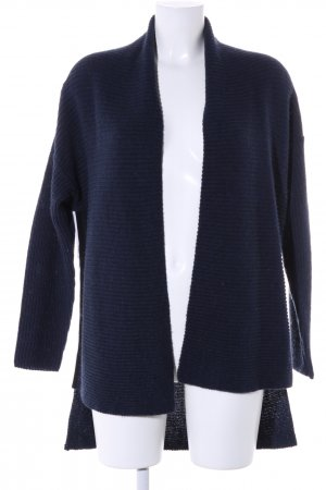 8PM Strick Cardigan blau Casual-Look