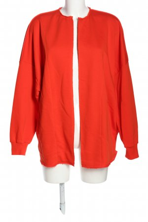 8PM Giacca fitness rosso stile casual
