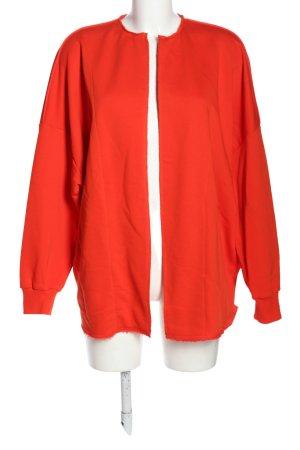 8PM Veste sweat rouge style décontracté