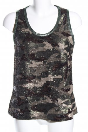 8PM Trägertop Camouflagemuster Casual-Look