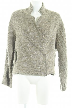 8PM Wool Jacket beige-silver-colored elegant