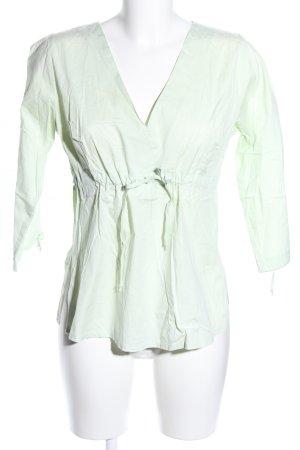 Langarm-Bluse grün Casual-Look
